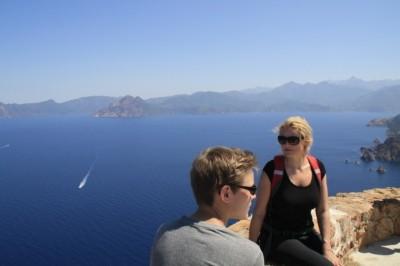 Unterwegs auf unserer Korsikareise