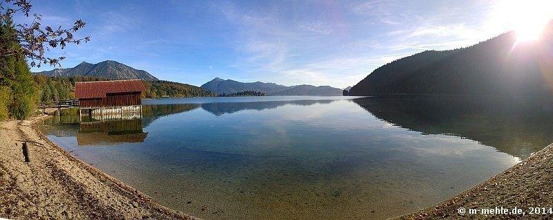 Stellplätze am Walchensee