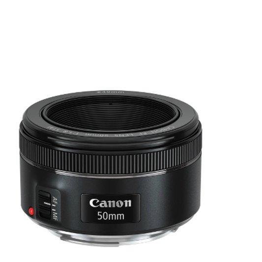 Bild eines Objektivs 50 mm von Canon