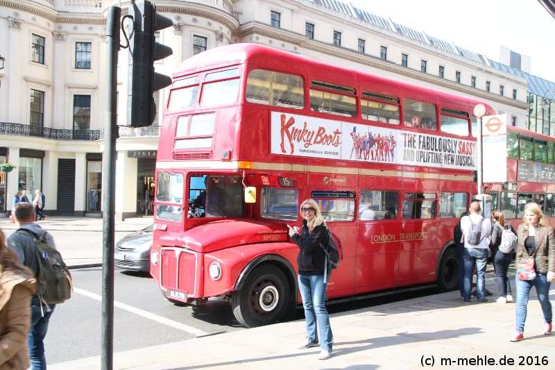 OLtimerbus in London