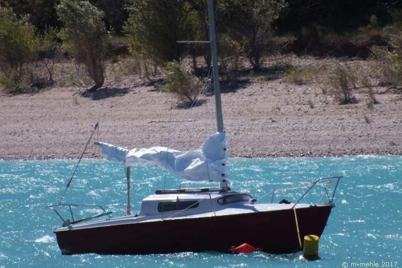 Boot am Lac Croix